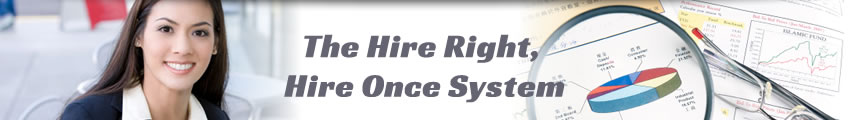 Hire Right Hire Once System Overview